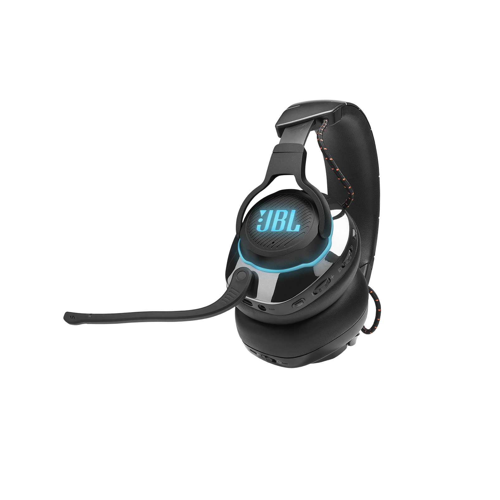 JBL Quantum 800 - Black - Wireless over-ear performance gaming headset with Active Noise Cancelling and Bluetooth 5.0 - Detailshot 1