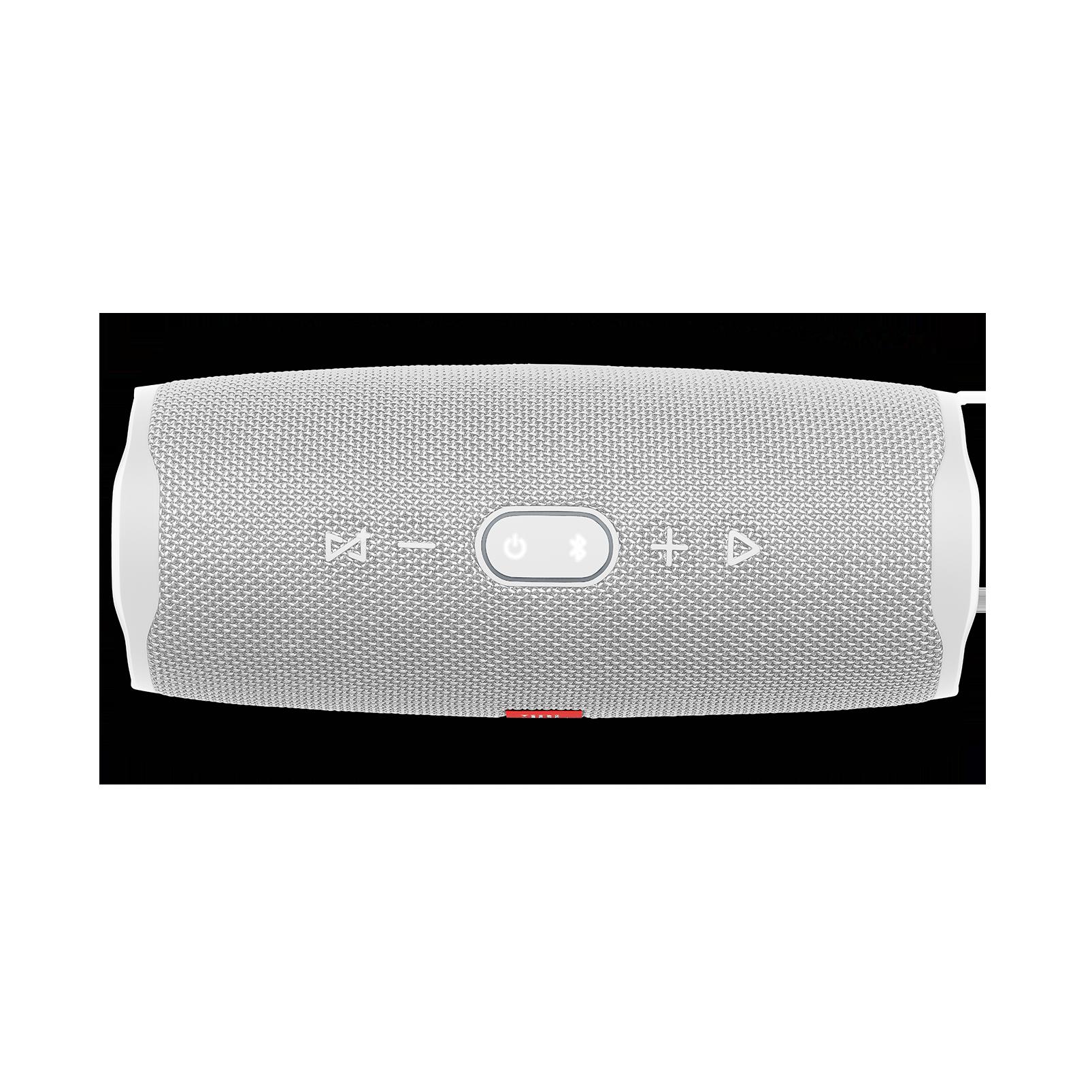 JBL Charge 4 - White - Portable Bluetooth speaker - Detailshot 1