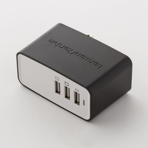 Harman Kardon ESQUIRE 3-Port USB AC power adapter - White - Detailshot 1