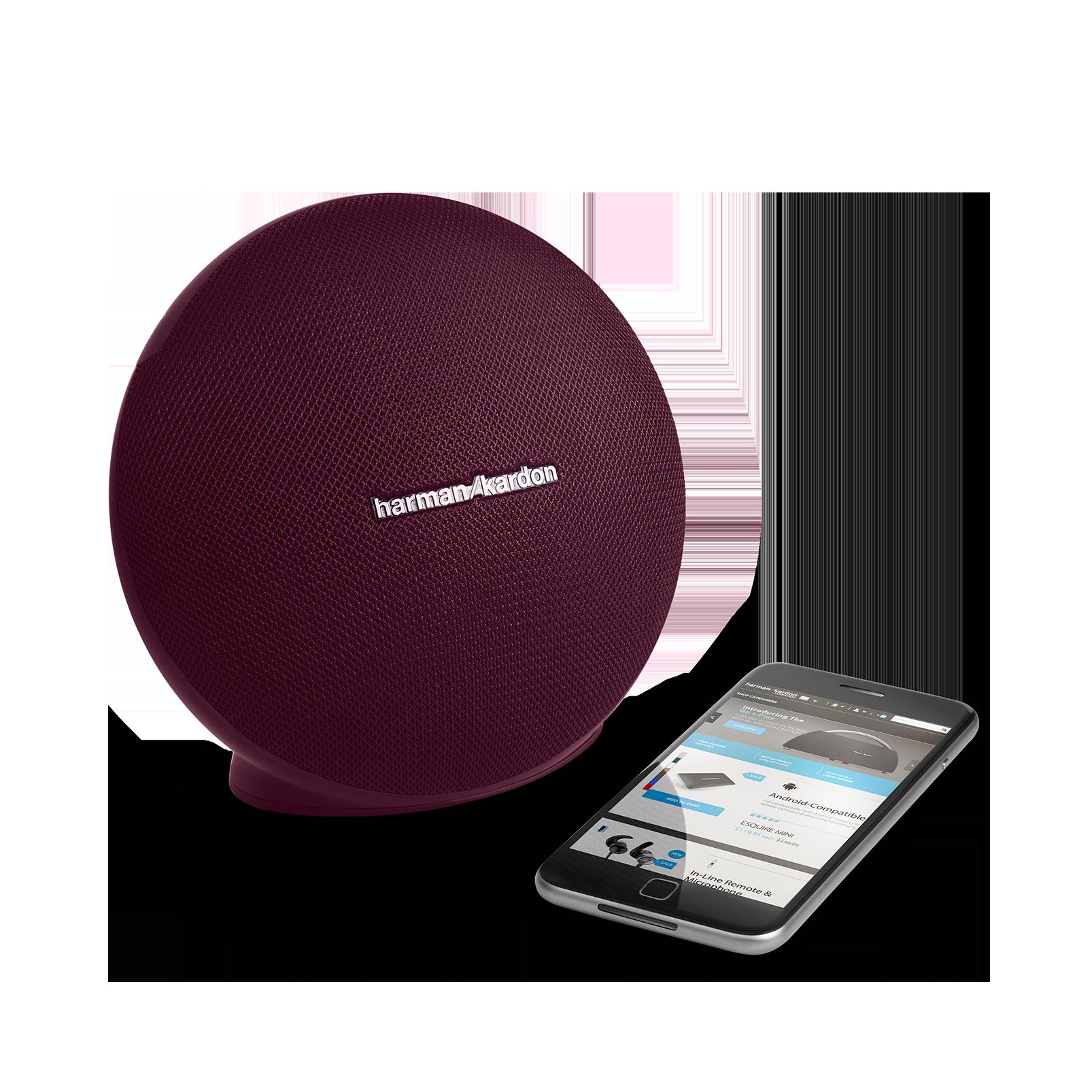 Onyx Mini - Red - Portable Bluetooth Speaker - Detailshot 1