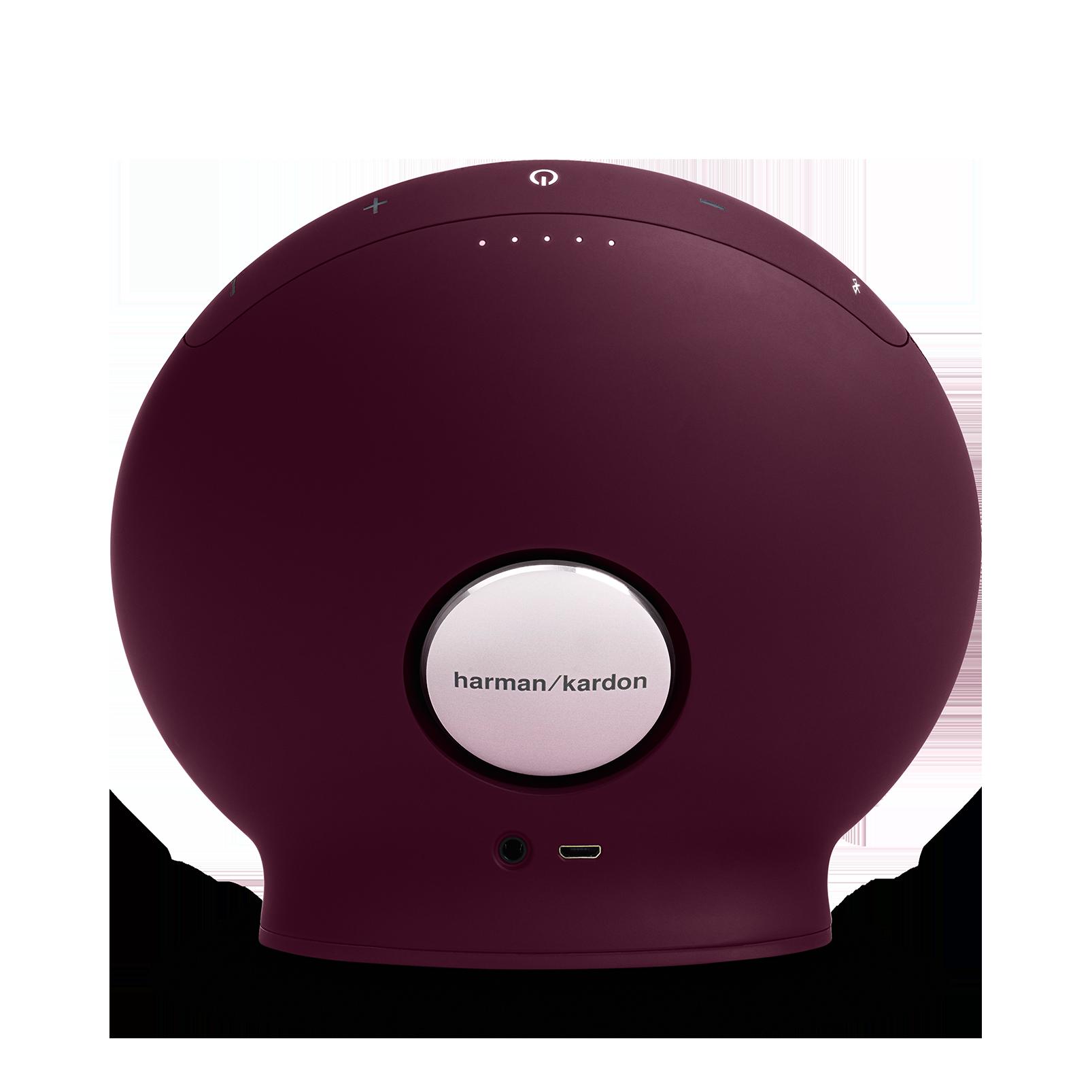 Onyx Mini - Red - Portable Bluetooth Speaker - Back