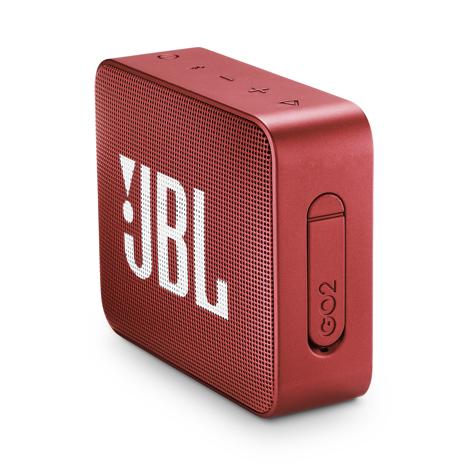 JBL GO 2 - Ruby Red - Portable Bluetooth speaker - Detailshot 2