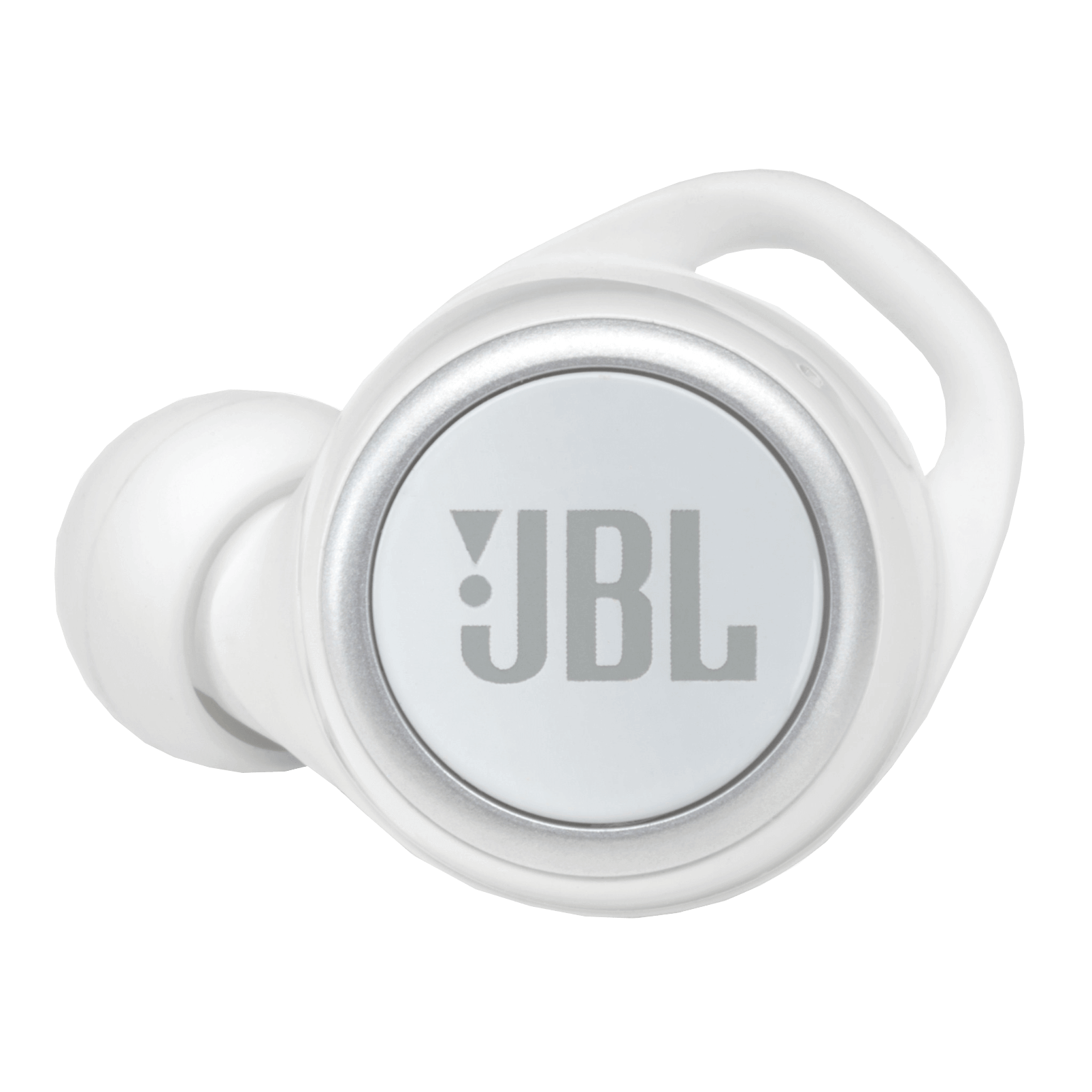JBL Live 300TWS - White Gloss - True wireless earbuds - Detailshot 2