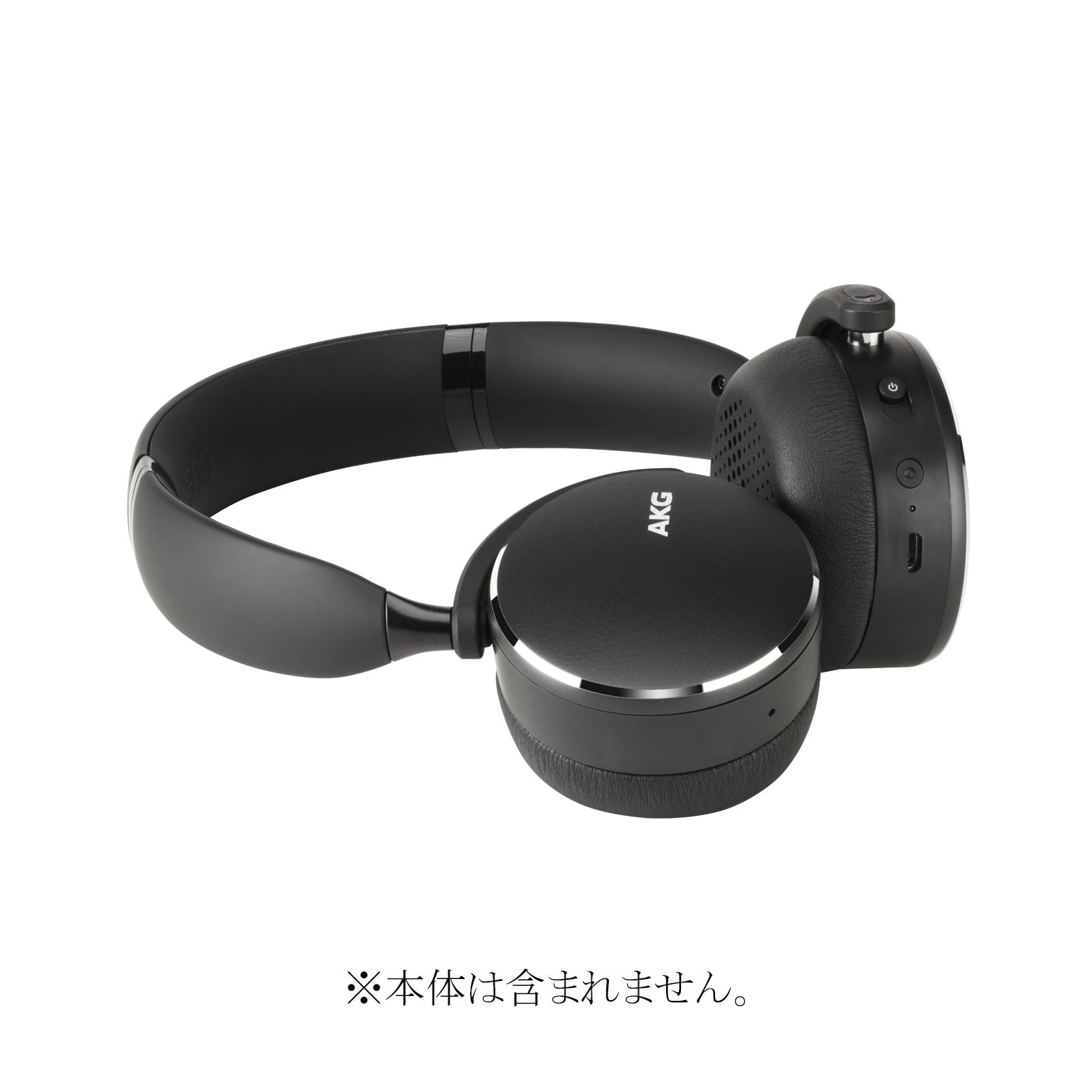AKG Y500BT EAR PAD - Black - Hero