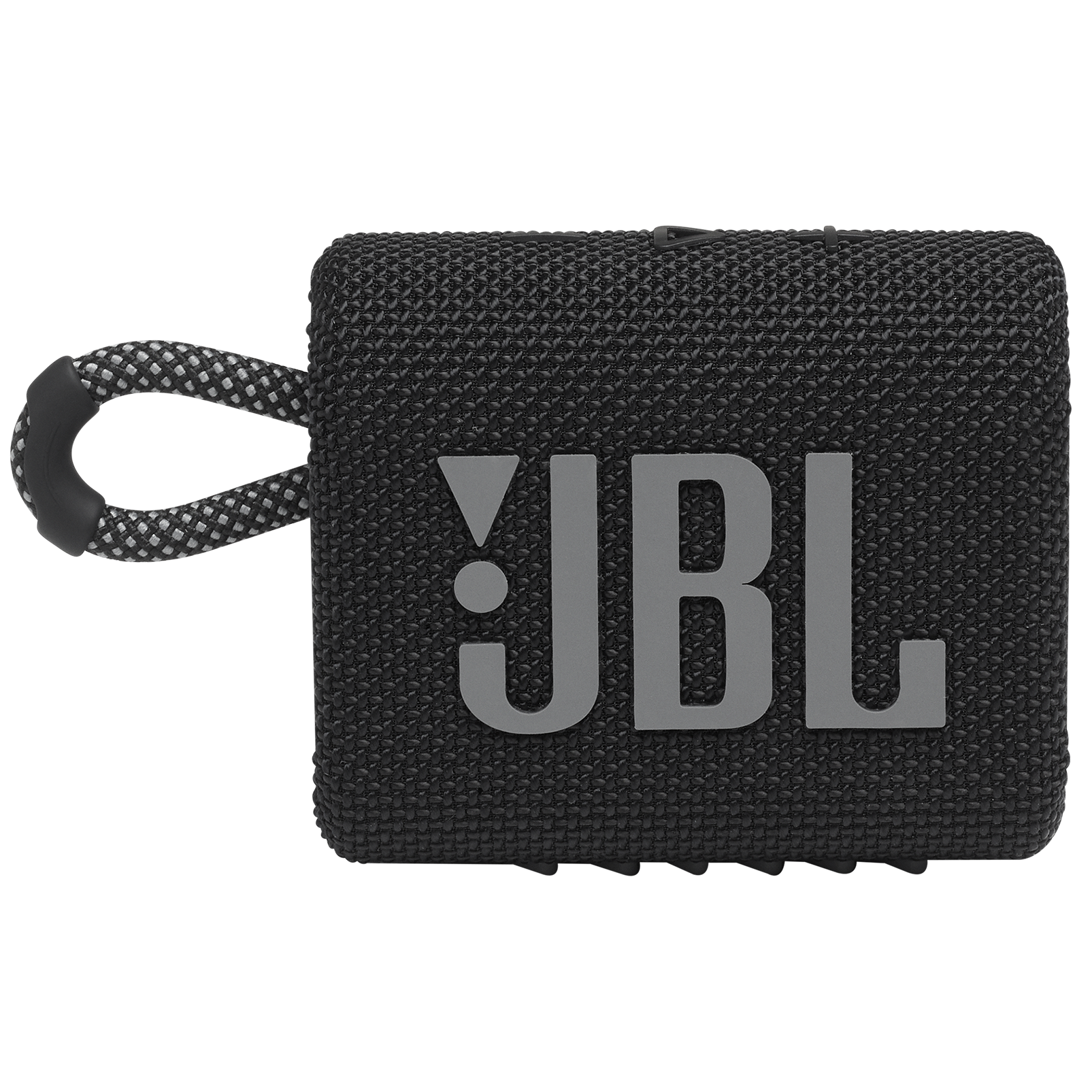 JBL GO 3 - Black - Portable Waterproof Speaker - Front